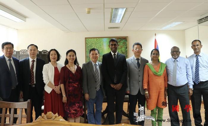 辽宁省文化旅游代表团访问毛里求斯_毛里求斯-国家图书馆-洛克-雁群-
