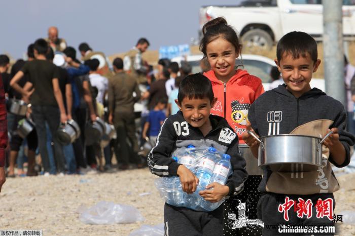 世界儿童日:他们从纷乱中来却有着单_索马里-叙利亚-难民营-