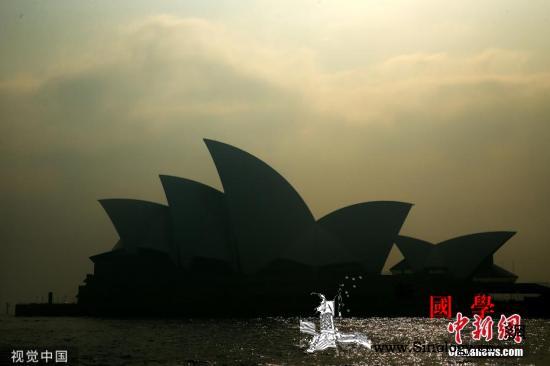 """澳山火致多地空气污染指数爆表""""dup_南澳-悉尼-澳大利亚-"""