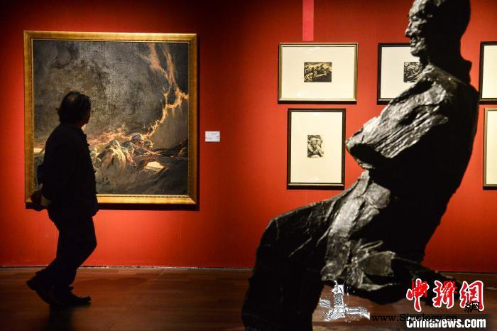 """""""天容海色""""中国美术馆馆藏精品展在海_齐白石-天容-海南省-"""