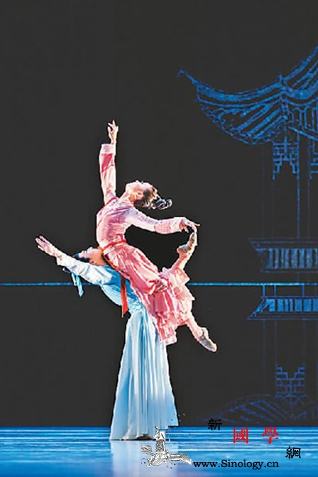 中国舞剧《梁祝》绽放光芒_梁祝-古典舞-舞剧-该剧-