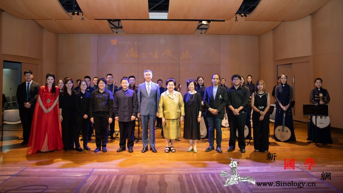 """""""海上生民乐""""在泰国相遇知音_音乐学院-曼谷-泰国-民族音乐-"""
