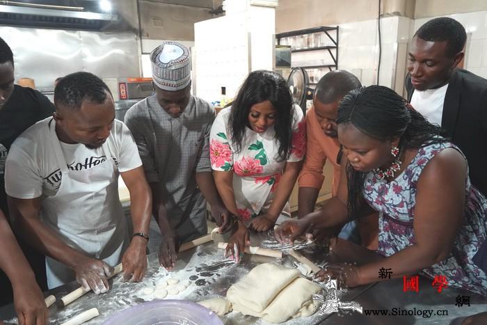 尼日利亚:中国烹饪展风采美食共品一_尼日利亚-饺子-品尝-成龙-