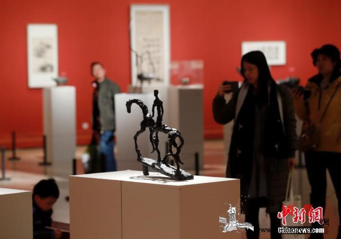 法籍华人艺术家熊秉明艺术展亮相中国美_知者-美术馆-艺术展-