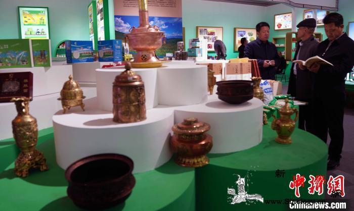 甘南州成就展临潭县主题日活动在北京举_藏族-菜籽油-文艺表演-