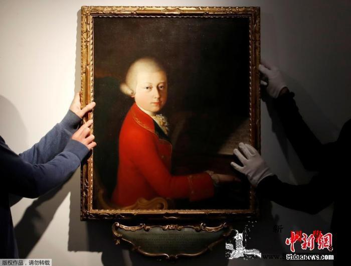 莫扎特少年时代肖像400万欧元拍出画_莫扎特-肖像画-巡回演出-