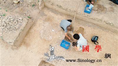 兵马俑战袍在哪里制作秦咸阳宫附近发现_渭河-石片-遗存-