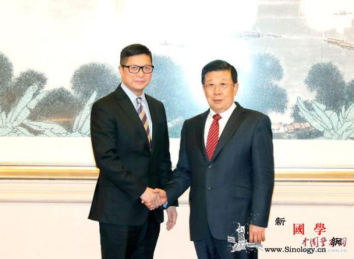 公安部部长赵克志会见香港警务处处长邓_公安部-国务委员-警务-