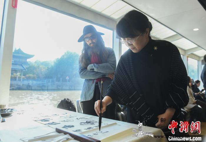 """书法名家方放:""""融""""中国文化之力""""书_白河-运河-文脉-"""