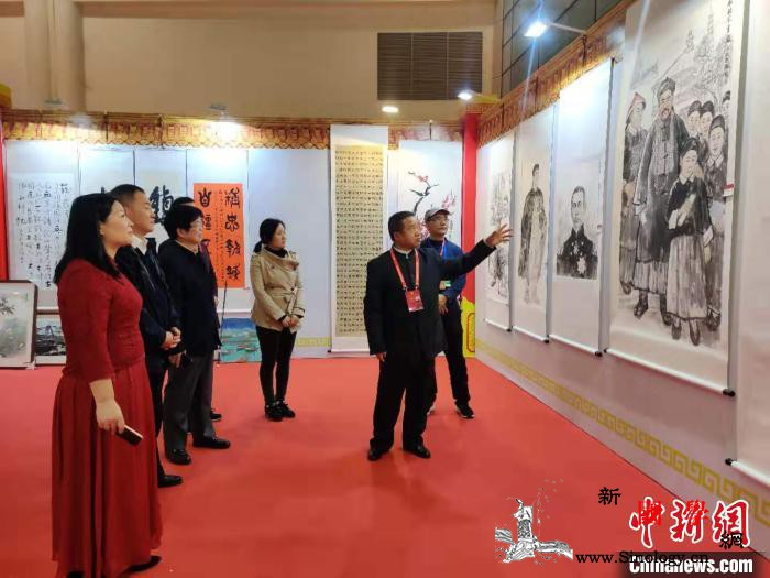 首届船政文化书画展福州展出海内外艺_福州-福建-海内外-书画-