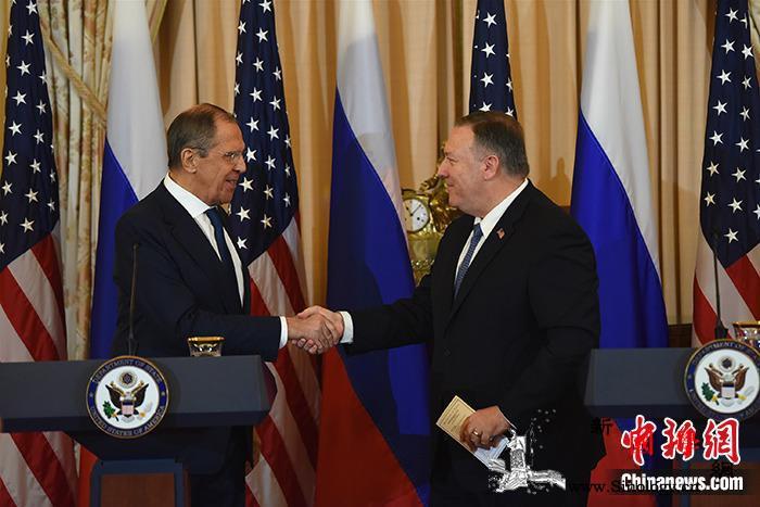 俄罗斯外长拉夫罗夫访问美国两国合作分_华盛顿-俄罗斯-外长-