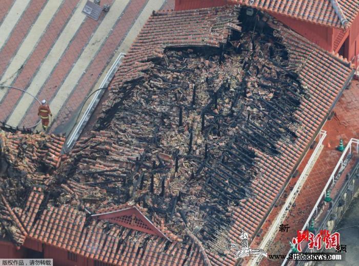 日本确定首里城重建方针:按1992年_冲绳-正殿-烧毁-