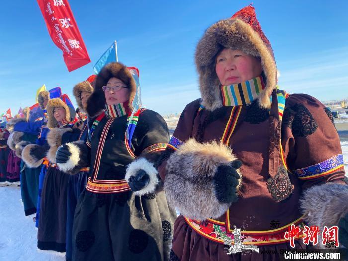 呼伦贝尔鄂温克冬季游牧文化展示活动开_鄂温克族-蒙古族-鄂温克族自治旗-