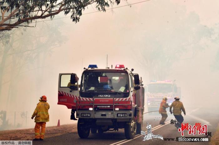 澳山火释放约2.5亿吨二氧化碳近20_悉尼-山火-澳大利亚-