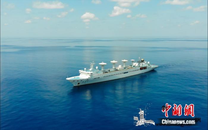 远望5号船圆满完成第五十二、五十三颗_印度洋-测控-远望-
