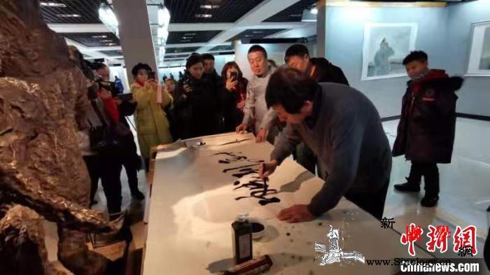 """第六届""""乌音嘎""""国际蒙古文书法展走进_呼伦贝尔-蒙古文-书法展-"""