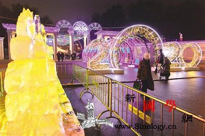 中国冰雕亮相莫斯科_莫斯科-纪念塔-红场-冰雕-