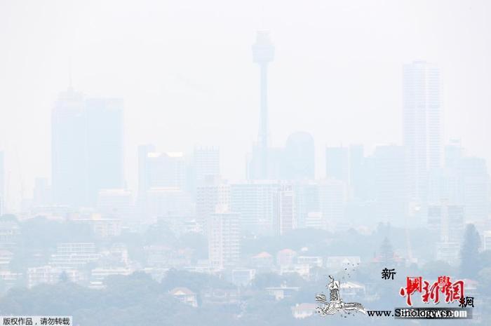 担心林火威胁澳大利亚堪培拉取消跨年烟_堪培拉-悉尼-澳大利亚-