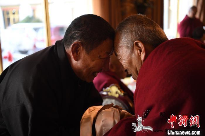 西藏宗教界新年团拜会在拉萨举行_统战部-西藏自治区-拉萨-