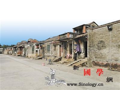 行走美丽乡村:走进广州塱头村看一眼暂_北江-养鸭-祠堂-