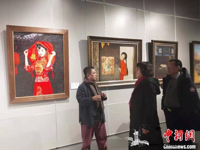 山西籍油画家用画笔弘扬晋商精神_晋中市-山西省-山西-