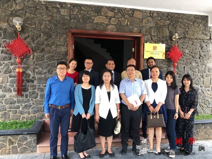 北京华文学院代表团访问斯里兰卡中国文_斯里兰卡-国务院侨务办公室-文学院-文化中心-