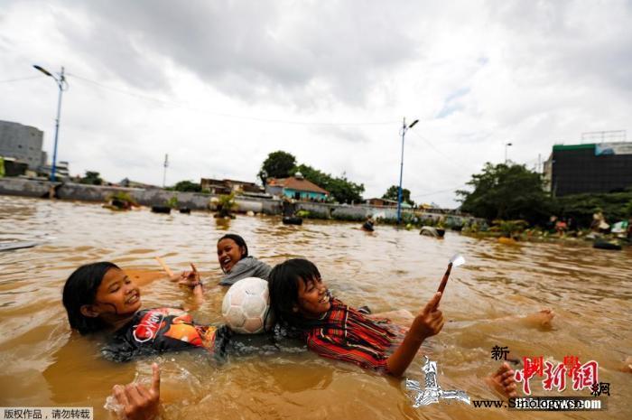 印尼雅加达洪灾已造成67死周围县市宣_雅加达-印度尼西亚-印尼-