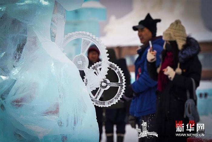 哈尔滨国际冰雕比赛落幕_冰雕-俄罗斯-哈尔滨-塞尔维亚-