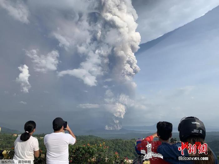 菲律宾火山喷发:45万人恐需撤离或引_马尼拉-菲律宾-火山灰-