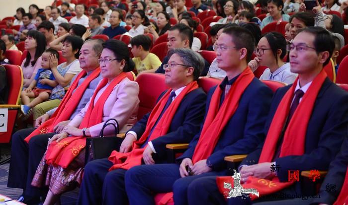 """2020老挝""""欢乐春节""""庙会举办_老挝-庙会-部长-面塑-"""