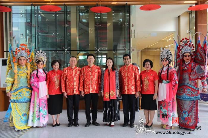 泰国文化部在曼谷中国文化中心拍摄春节_文化部-曼谷-泰国-文化中心-