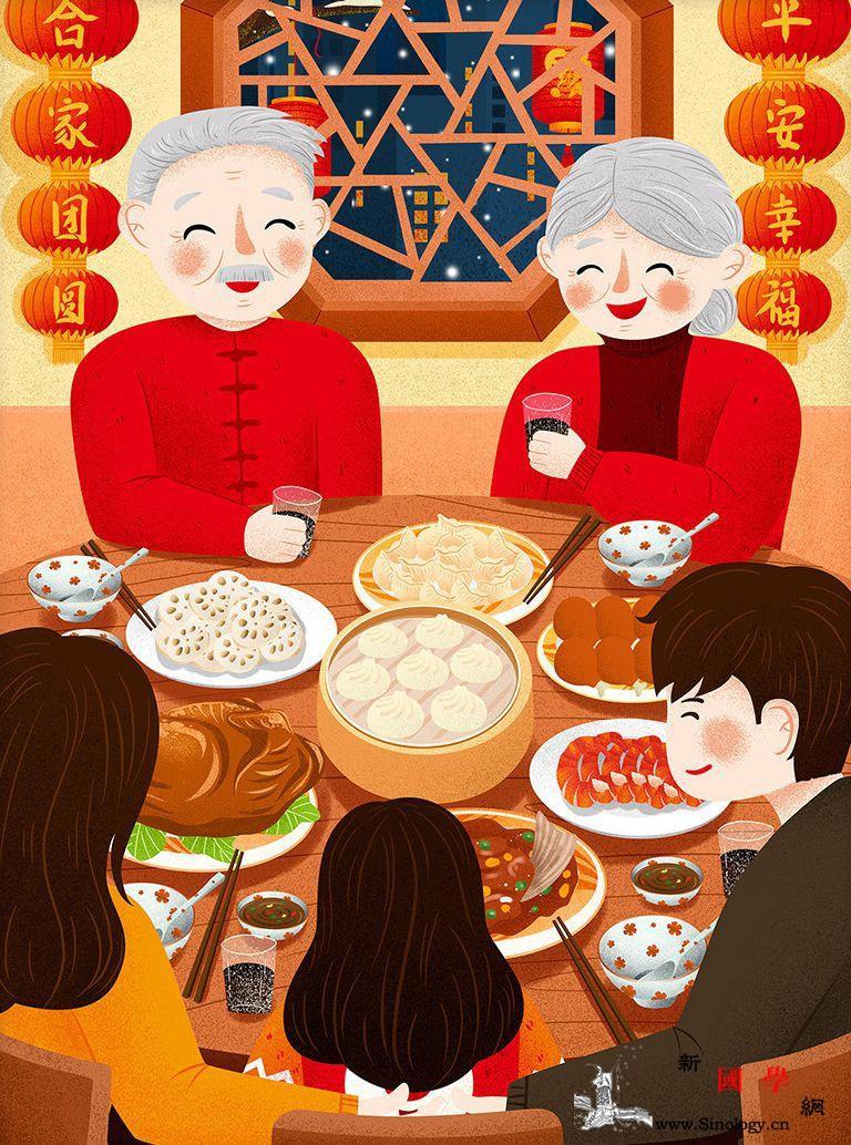年味从一桌团圆开始_镌刻-年夜饭-团圆-