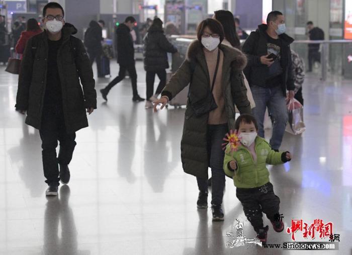1月25日全国铁路预计发送旅客260_测温-口罩-防疫-