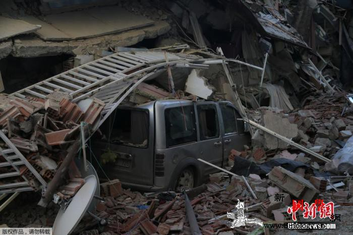 土耳其强震死亡人数升至38人救援工作_土耳其-贝鲁特-强震-