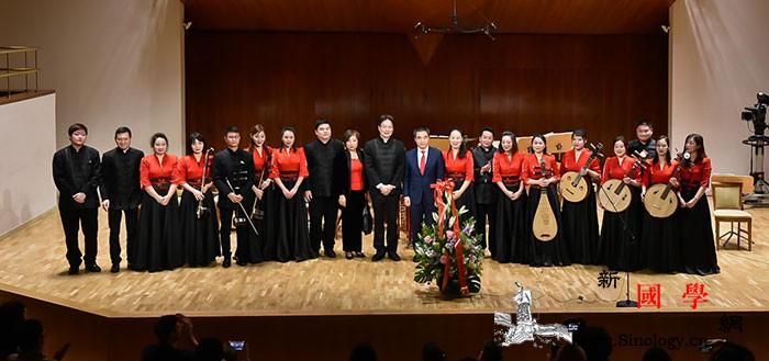 中国民乐奏响西班牙国家音乐厅_马德里-西班牙-独奏-乐团-
