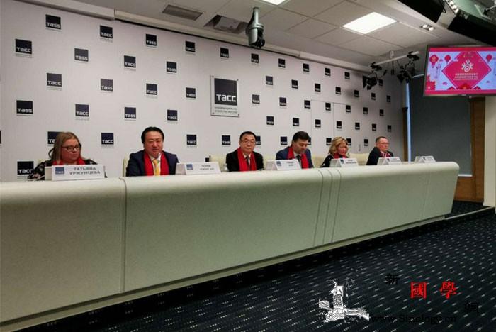 """圣彼得堡2020""""欢乐春节""""活动新_俄罗斯-阿布-代主席-塔斯社-"""