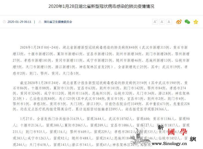 湖北新增840例新型冠状病dupoi_黄冈市-孝感市-荆门市-