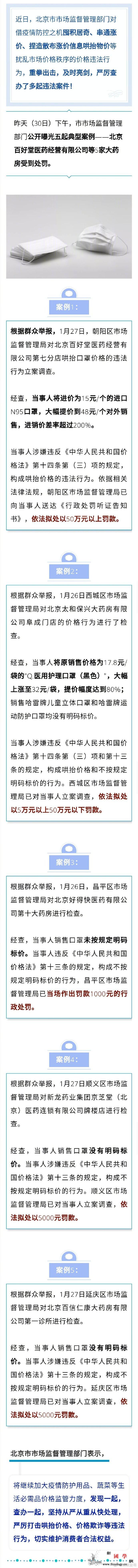 """15元的口罩卖48元北京""""百好堂""""等_画中画-售卖-口罩-"""