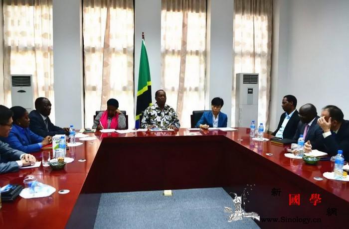 驻坦桑尼亚使馆同坦政府就新型冠状病毒_疫情-坦桑尼亚-防控-参赞-