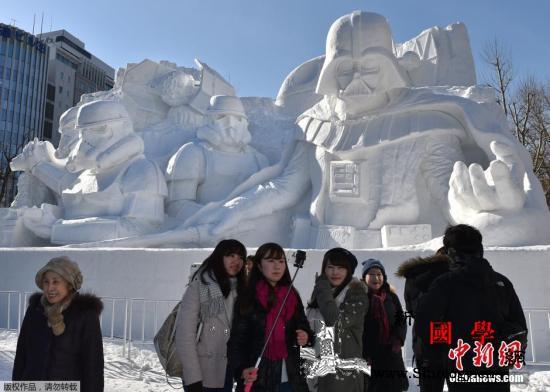 日本札幌冰雪节开幕会场设多项举措助力_札幌-冰雪节-日本-