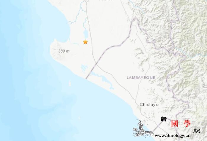 秘鲁西北部发生5.1级地震震源深度5_震源-画中画-美国-