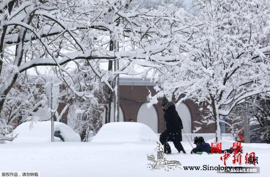 冬季风暴袭击美国东部数百万人面临极端_国家气象局-密西西比州-阿拉巴马州-
