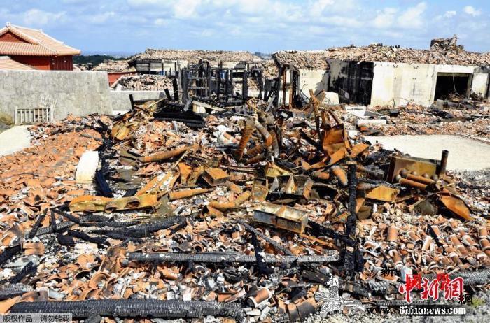 首里城重建于10日正式开始前期主要为_冲绳-烧毁-日本-