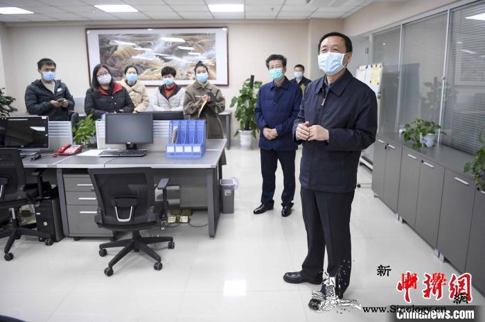 湖南省委常委、宣传部长张宏森慰问中新_湖南-分社-疫情-