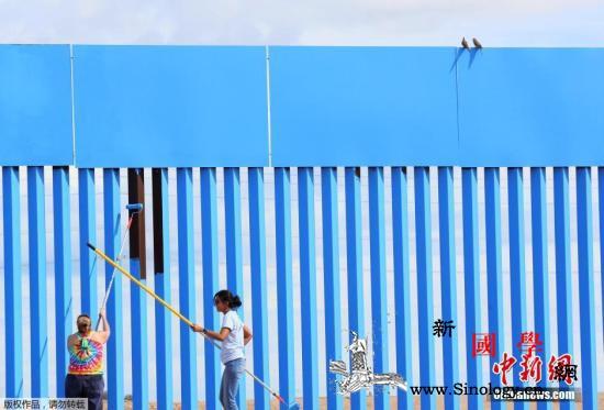 特朗普施压奏效?墨西哥称美国送返移民_墨西哥-粉刷-墙体-