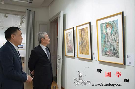 中国驻欧盟使团团长张明大使莅临布鲁塞_布鲁塞尔-敦煌-文化中心-莅临-