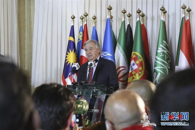 联合国秘书长对中国抗击新冠肺炎疫情充_伊斯兰堡-联合国-抗击-