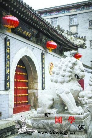 """北京广化寺""""三不""""规矩传为佳话_翰林院-华严经-传为佳话-"""