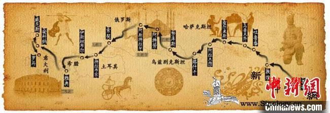 """甘肃省博线上""""忆述""""丝路故事全景式诠_奔马-甘肃省-丝绸之路-"""