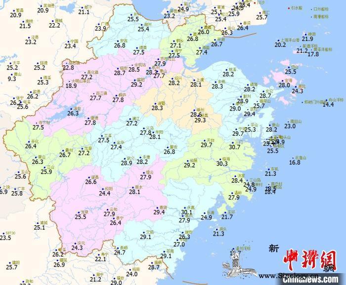 浙江10县市破当地2月最高温记录多地_气象台-浙江省-浙江-